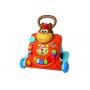 Variabilní hračku lze používat jako hrací pult, chodítko pro stabilitu při prvních krůčcích i jako stoleček s aktivitami.