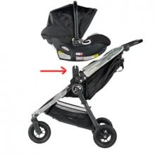 Baby Jogger adaptér City Mini pro autosedačku City Go