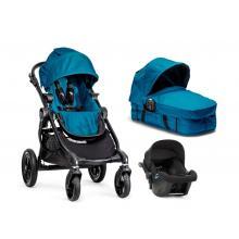 Kočárek Baby Jogger City Select s hlubokou korbou a autosedačkou City Go