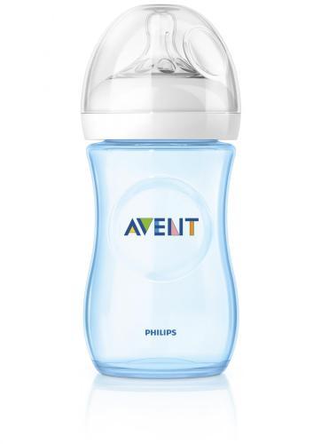 Avent láhev 260 ml Natural 1 ks modrá