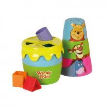 WTP - Vkládací hrnec s tvary a kalíšky Medvídek Pú