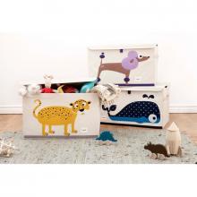 3 Sprouts Toy Chest - uzavíratelná bedýnka na hračky