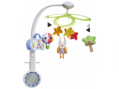 Taf Toys Kolotoč Sova s MP3 přehrávačem