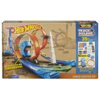 Hot Wheels Track Builder dráha Závodní smyčka