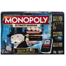 Hasbro Hra Monopoly Elektronické bankovnictví