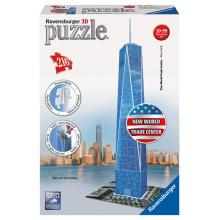 Ravensburger puzzle Trade Center 3D 216 dílků