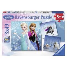 Ravensburger puzzle Ledové království 3 x 49 dílků