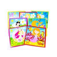 Meadow Kids Puzzle do vany/bazénku Víly a princezny
