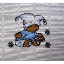 LTZ - Bavlněné pleny 70x70 cm potisk Méďa modrý