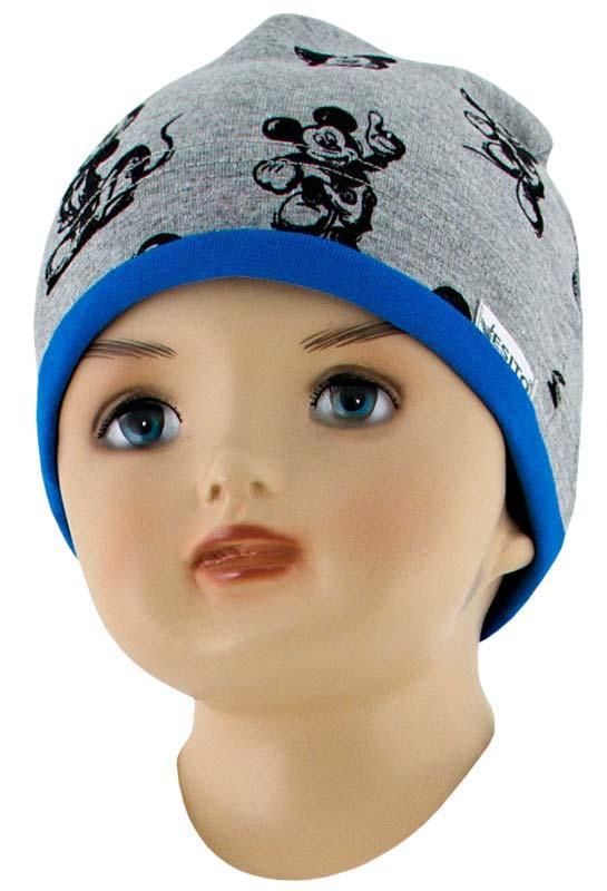 Esito Dětská čepice Mickey Mouse modrá - vel.56