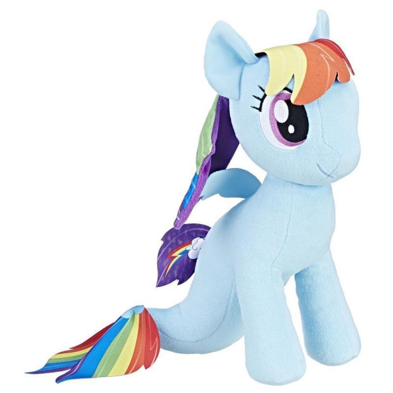 Hasbro My Little Pony plyšový poník 30 cm - Rainbow Dash - mořský poník