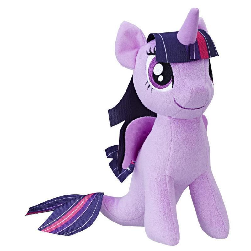 Hasbro My Little Pony plyšový poník 25 cm - Twilight Sparkle - mořský poník
