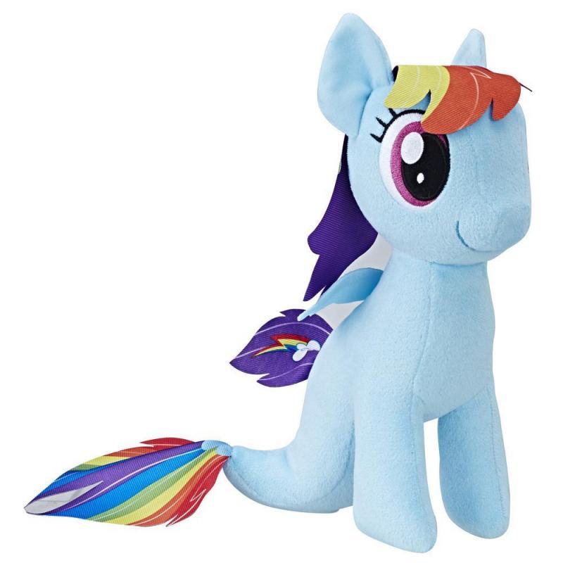 Hasbro My Little Pony plyšový poník 25 cm - Rainbow Dash - mořský poník