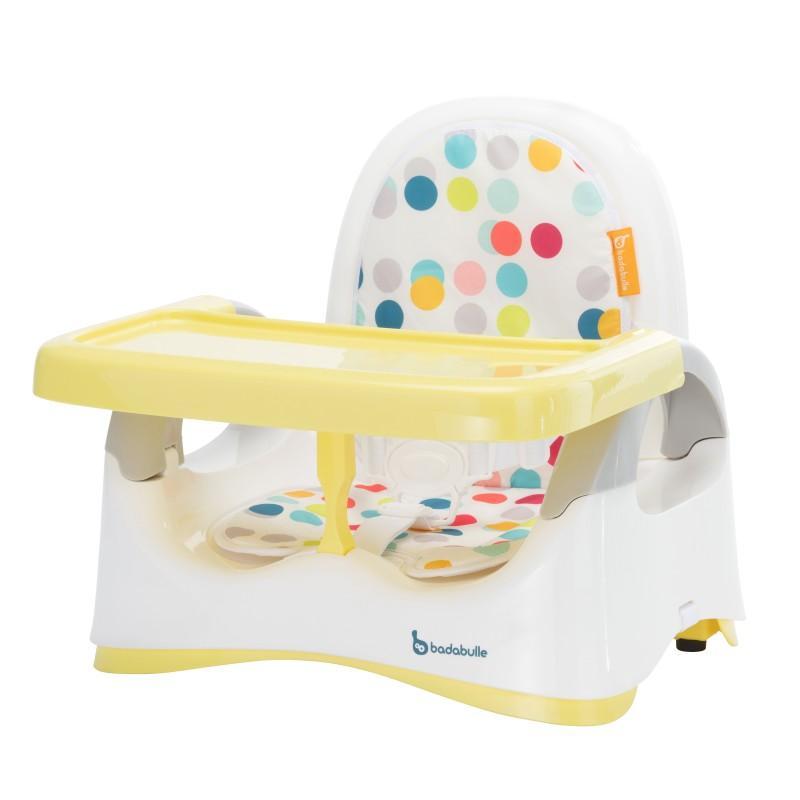 Jídelní židlička přenosná Badabulle Comfort - Yellow