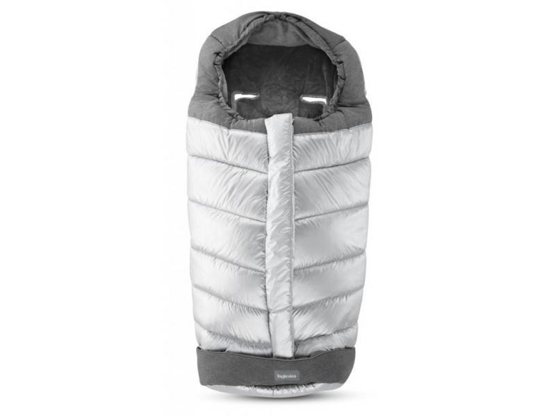Inglesina fusak Winter Muff pro kombinovaný/sportovní kočárek - cyber silver