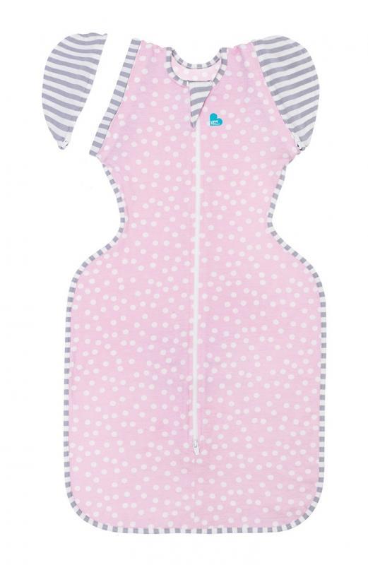 Love To Dream Rychlozavinovačka Swaddle Up 50/50 Summer Lite, Pink - Pink 6-8,5 kg