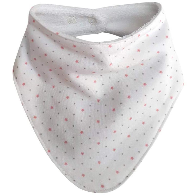 Esito Slintáček bavlna hvězdička - růžová