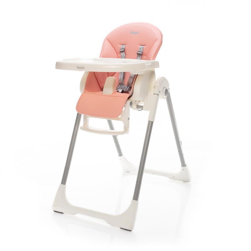 Jídelní židlička Zopa Ivolia - Candy Pink