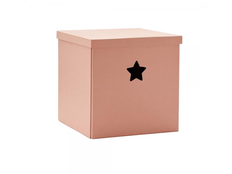 Kids Concept Krabice Star - Pink