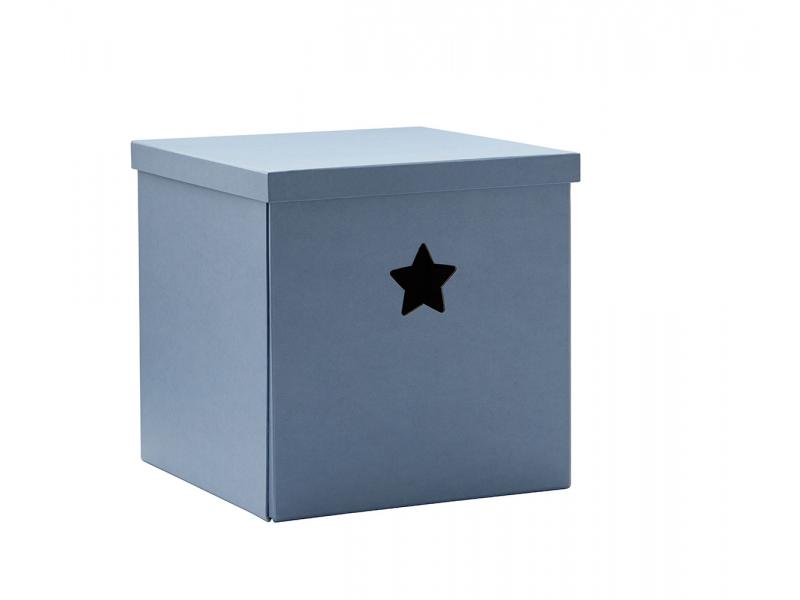 Kids Concept Krabice Star - Blue