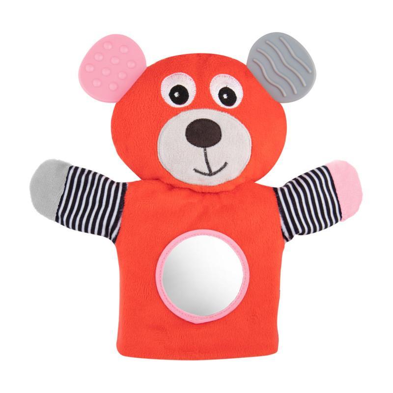 Canpol babies Plyšový maňásek Medvídci - červená