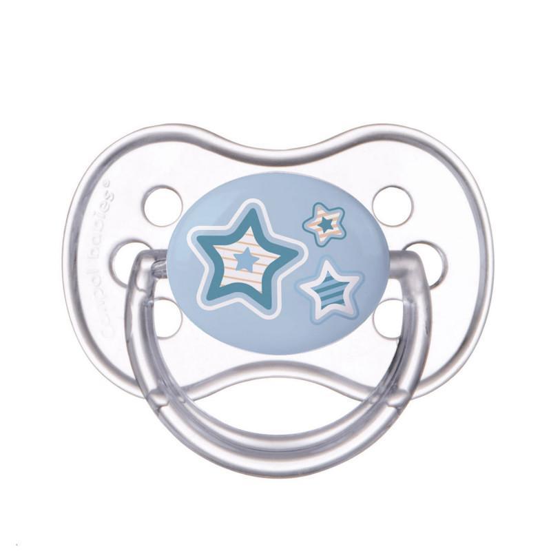 Canpol babies Dudlík kaučukový třešinka 0-6m NEWBORN BABY - modrá