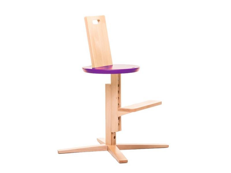 Jídelní židle FROC - Fialová