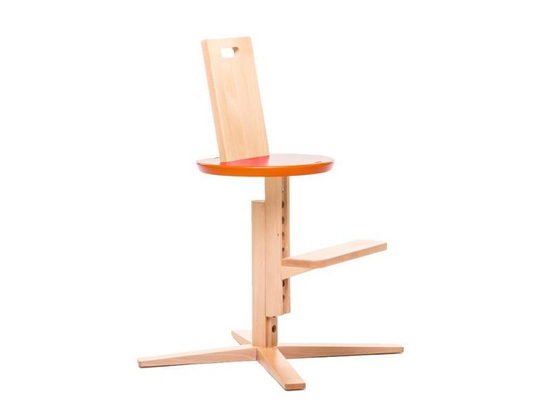 Jídelní židle FROC - Oranžová