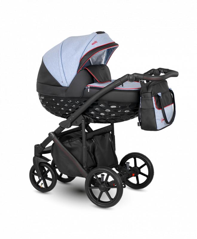 Kočárek Camarelo Maggio 2021 - Mg-9 modro-černá