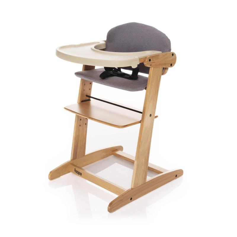 Jídelní židlička Zopa Grow-up rostoucí - Natur/Grey