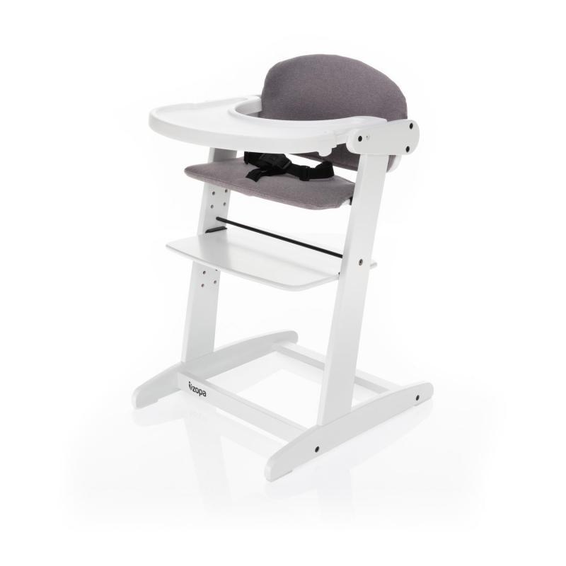 Jídelní židlička Zopa Grow-up rostoucí - White/Grey
