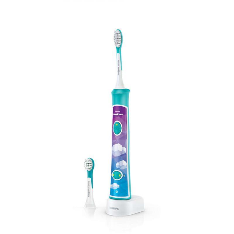 Philips Avent Zubní kartáček elektrický dětský Sonicare - zelená