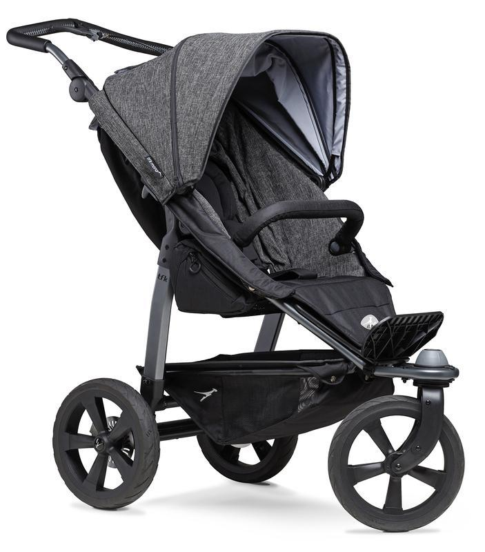 Kočárek TFK Mono Stroller Air Wheel Premium - anthracite