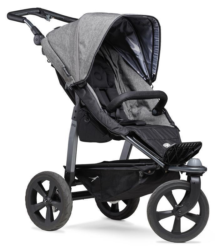 Kočárek TFK Mono Stroller Air Wheel Premium - grey
