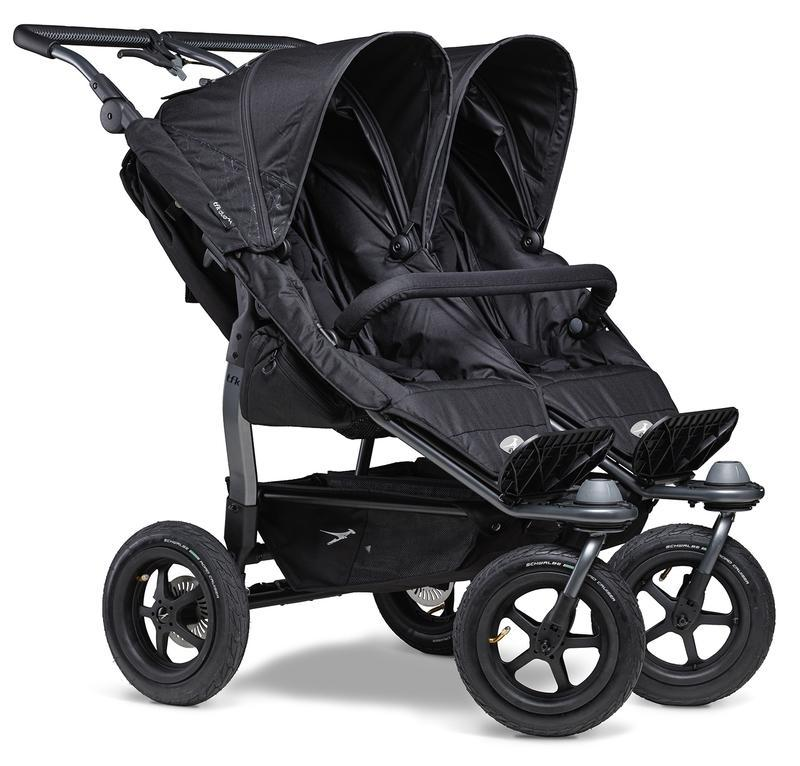 Kočárek TFK Duo Stroller Air Wheel - black