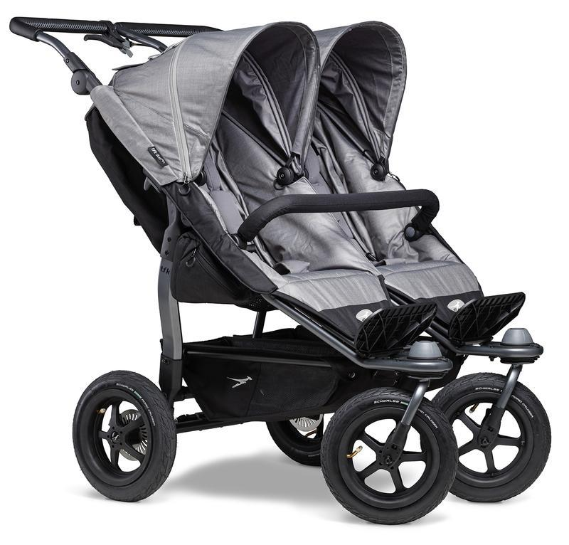 Kočárek TFK Duo Stroller Air Wheel - grey