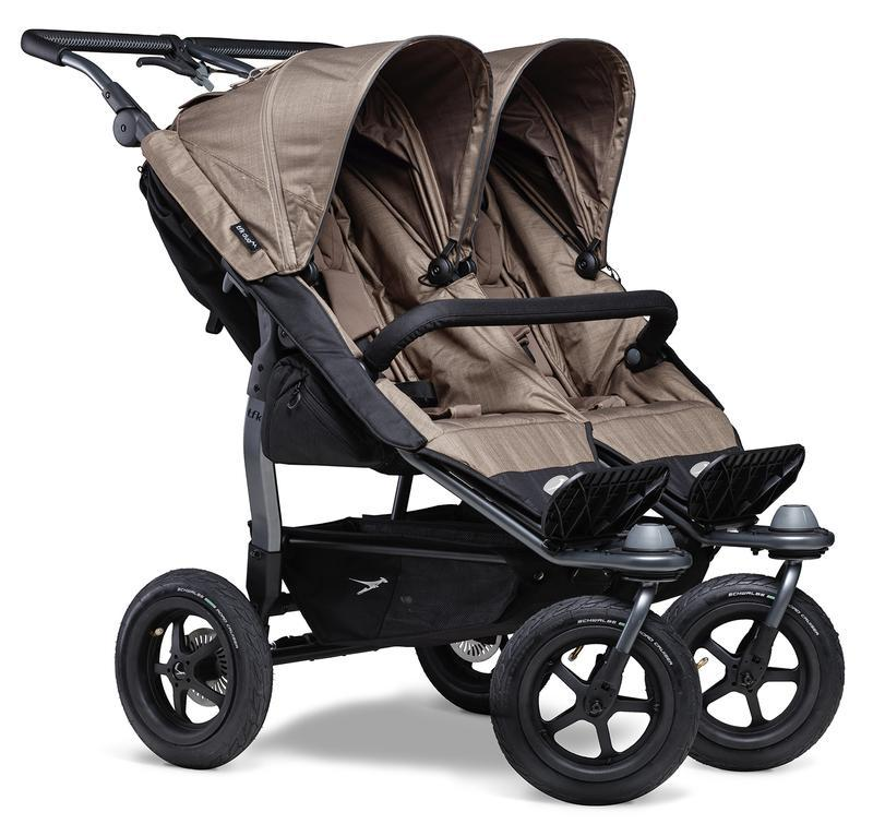 Kočárek TFK Duo Stroller Air Wheel - brown