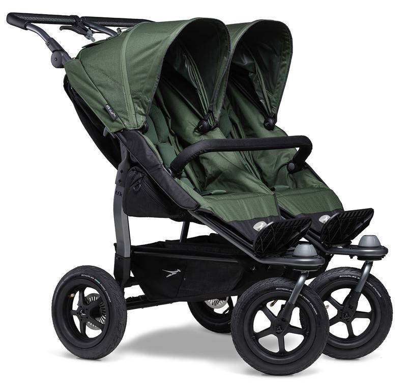 Kočárek TFK Duo Stroller Air Wheel - oliv