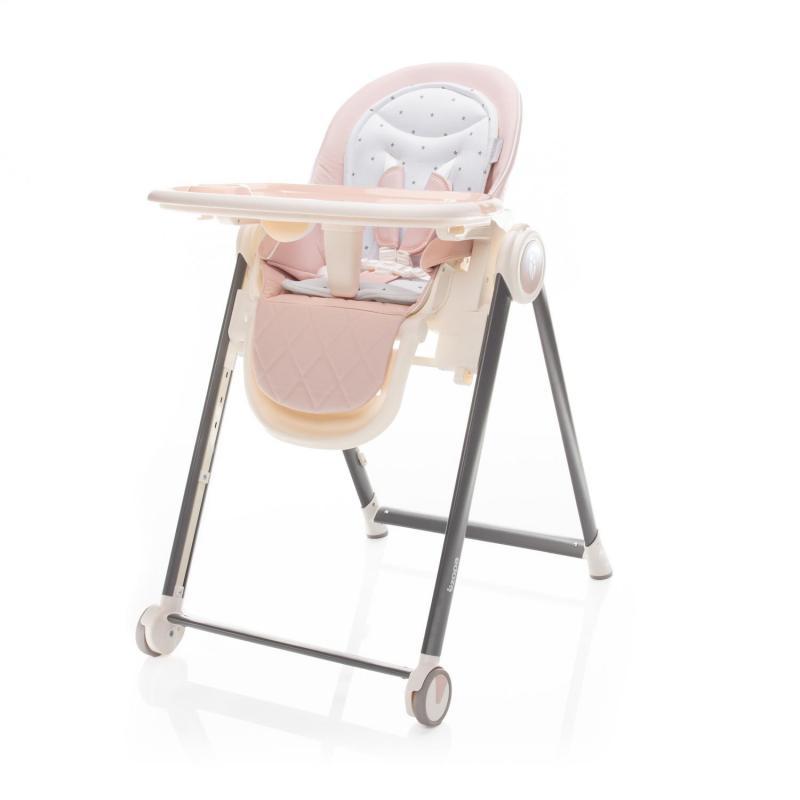 Jídelní židlička Zopa Space - Blossom Pink