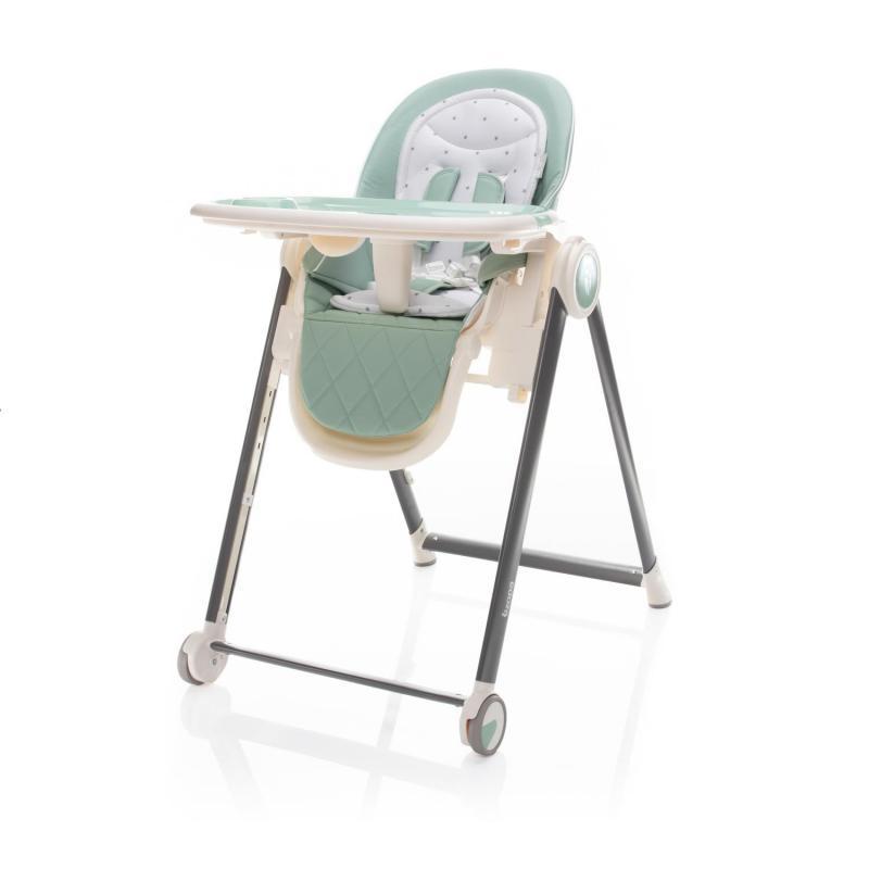 Jídelní židlička Zopa Space - Misty Green