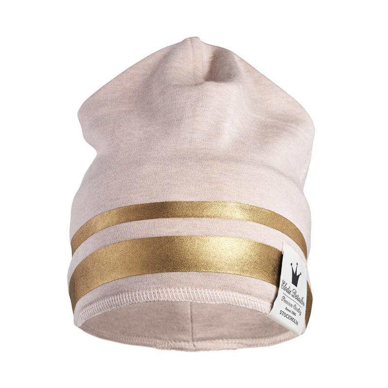 Elodie Details bavlněná čepice Gilded Pink - vel.0-6 měsíců