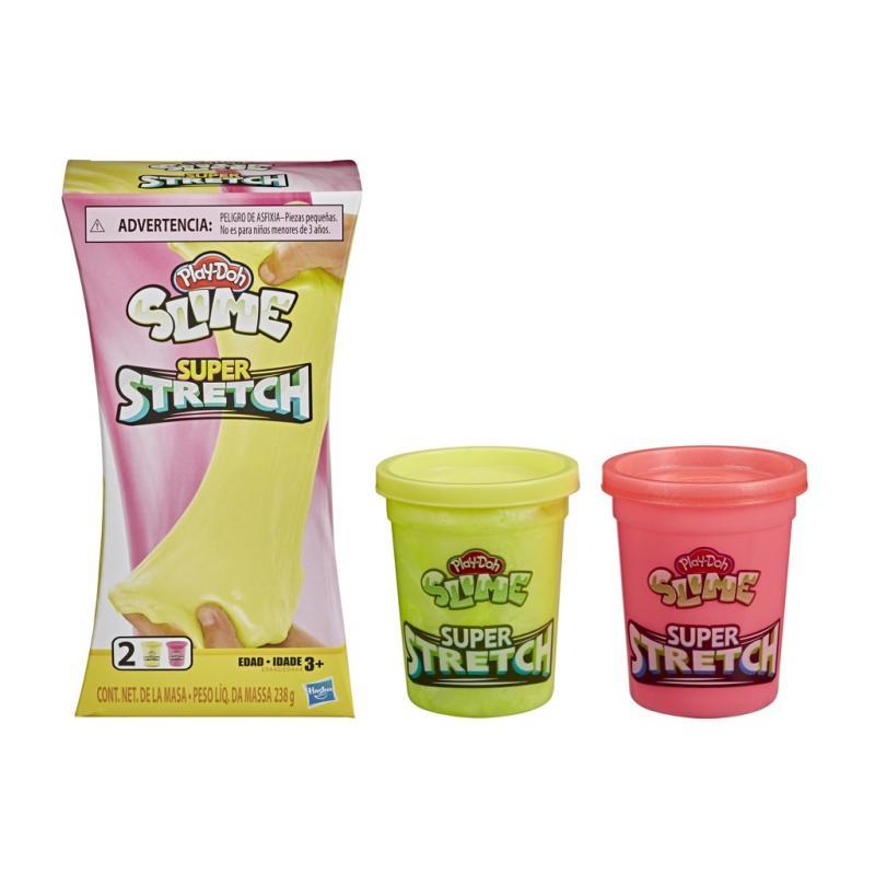 Hasbro Play-Doh Super natahovací modelína - žlutá/růžová