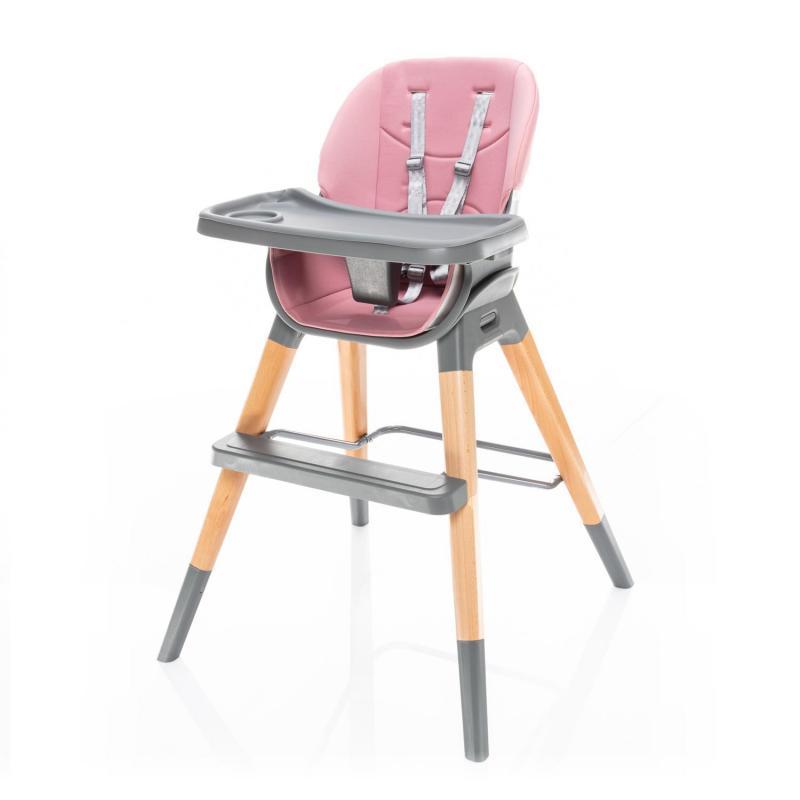 Jídelní židlička Zopa Nuvio - Blush pink