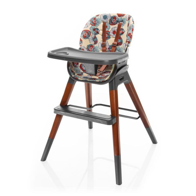 Jídelní židlička Zopa Nuvio - Wild Flowers