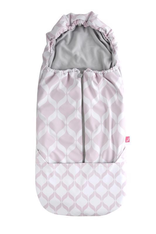 Motherhood Fusak do kočárku Softshell - Classics Pink