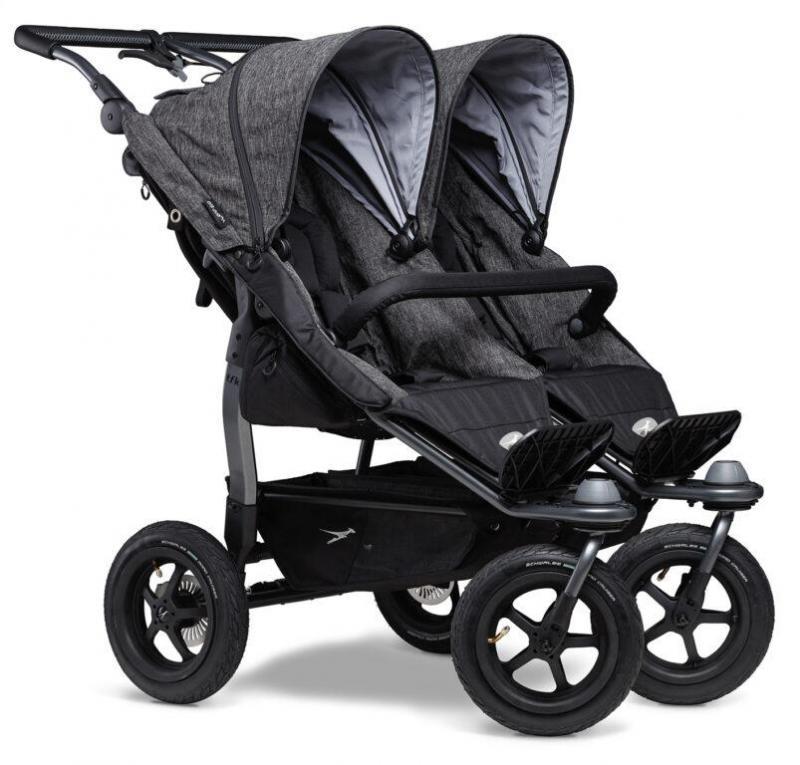 Kočárek TFK Duo Stroller Air Wheel Premium - anthracite