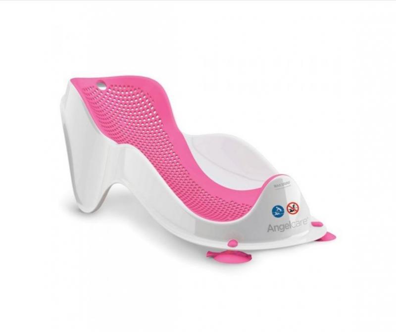 Angelcare Koupací podpora Bath Support FIT - pink