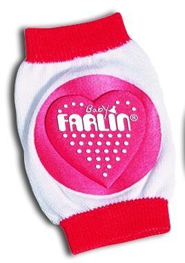Farlin chrániče na kolena - růžové