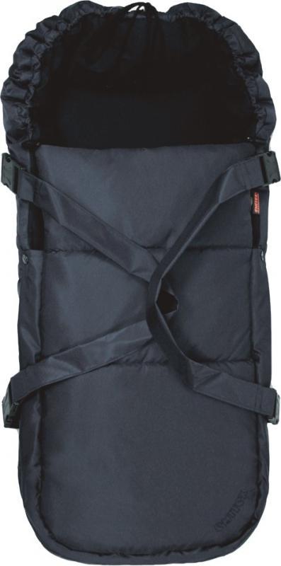 Emitex Vložná taška pro kojence - černá
