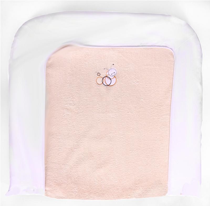Bébé-Jou froté návlek na velkou přebalovací podložku - Coco béžová*